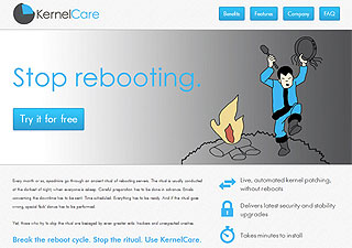 KernelCare license screenshot