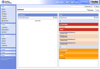 Take a look at the Parallels Plesk Billing License screenshot