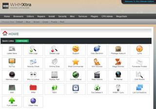 Captura de pantalla de la licencia de WHMXtra