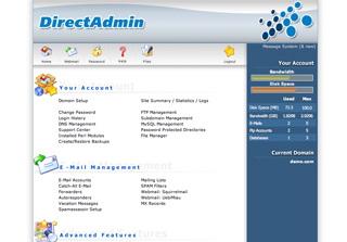 DirectAdmin license screenshot