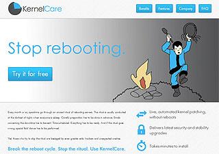KernelCare license screenshot