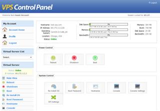 SolusVM License Screenshot