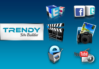 Trendy SiteBuilder license screenshot